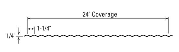 1.25 Corrugated