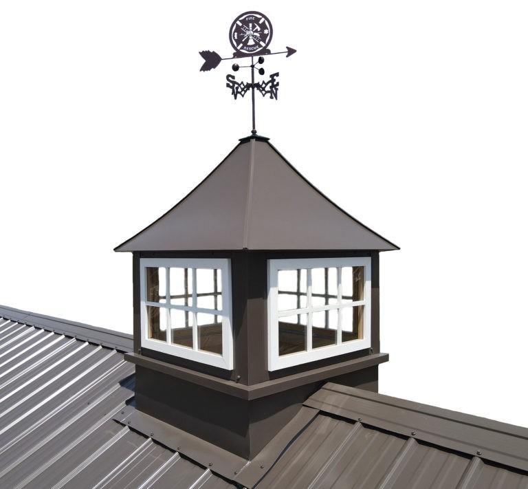Brown Cupolas & weathervanes