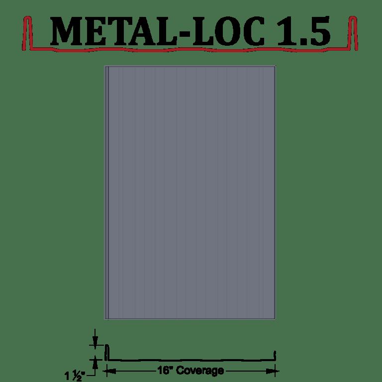 standing seam metal