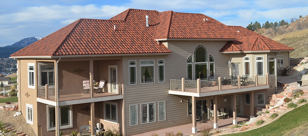 Decra Villa Tile House