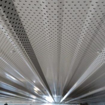 perforated header